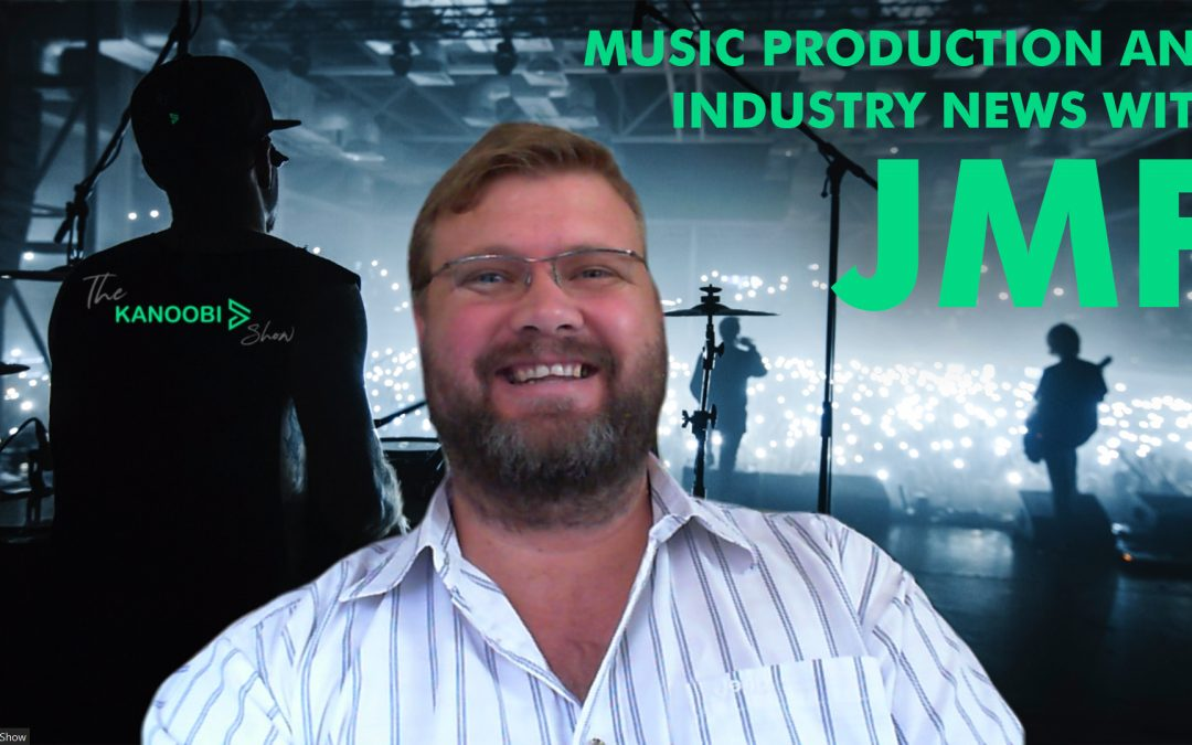 Music Production and Music Industry News with Johan Fourie from JMF